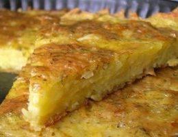 Миниатюра к статье Запеканка из тертого картофеля с сыром и чесноком