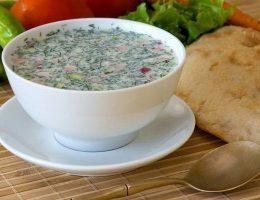 Миниатюра к статье Холодные летние супы: топ 5 рецептов