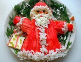 Миниатюра к статье Салат «Дед мороз»
