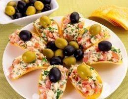 Миниатюра к статье Сырная закуска на чипсах — быстро & оригинально!