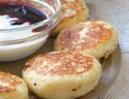 Миниатюра к статье Пять рецептов вкусных сырников