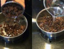 Миниатюра к статье Как очистить печень с помощью изюма и воды всего за 2 дня