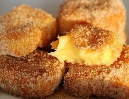 Миниатюра к статье Жареное молоко! Необыкновенный испанский десерт.