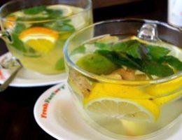 Миниатюра к статье Имбирный чай для похудения и снижения аппетита