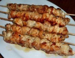Миниатюра к статье Шашлык из курицы в духовке