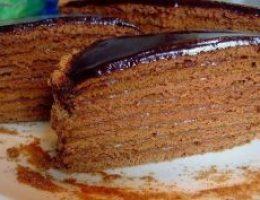 Миниатюра к статье Шоколадный медовик «Дамский каприз»