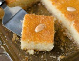 Миниатюра к статье «Басбуса» — известная арабская сладость