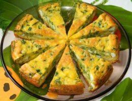 Миниатюра к статье Пирог с яйцами и зеленым луком