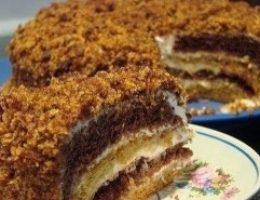 Миниатюра к статье Очень вкусный торт «Сметанник»