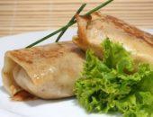 Миниатюра к статье Блинчики с курицей и грибами