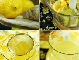 Миниатюра к статье Напиток здоровья — имбирный лимонад!